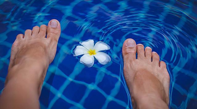 Dar un buen masaje de pies