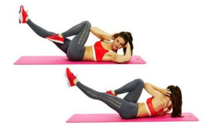ejercicios para hacer abdominales