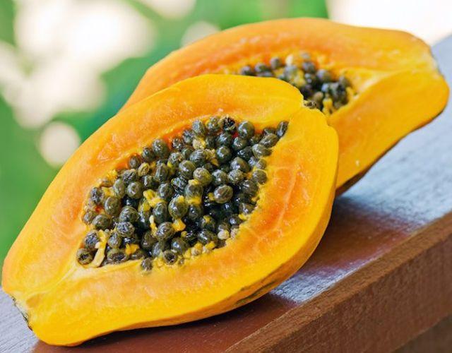 La papaya, una fruta con muchos beneficios