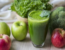 Batidos verdes para desayunar