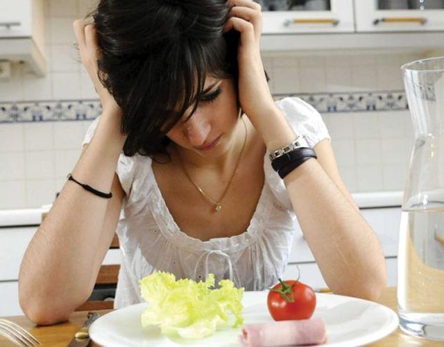 Primeros síntomas de anorexia