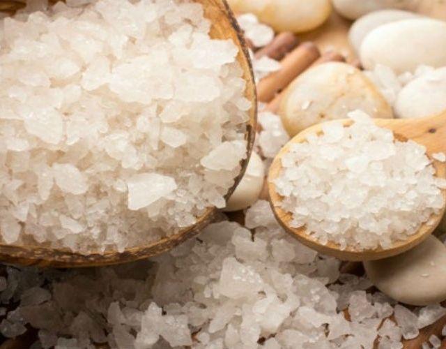 Los beneficios de la sal marina