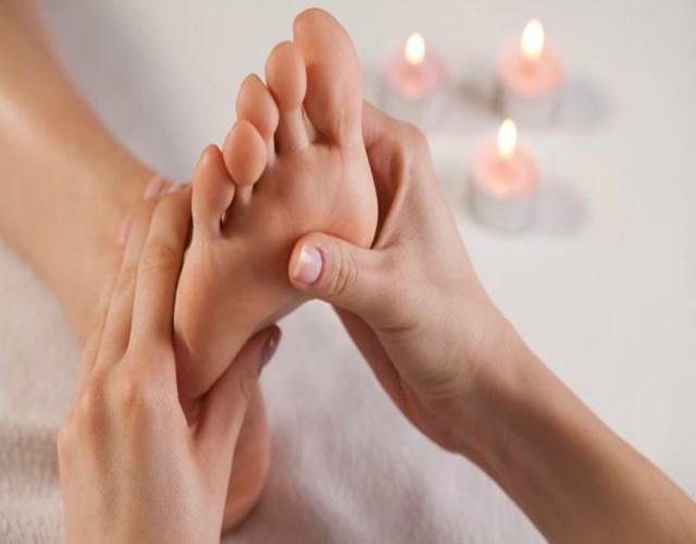 reflexología para nuestros pies