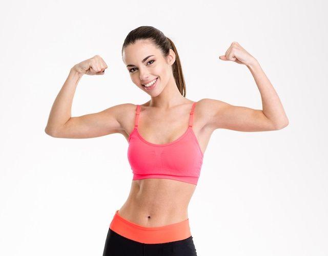 Ejercicios para la flacidez brazos y glúteos en 5 minutos