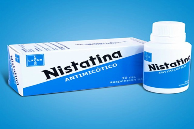 cómo usar la nistatina
