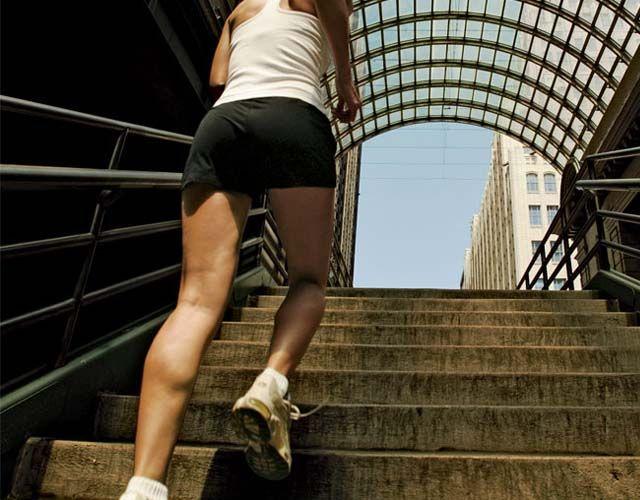 Subir escaleras es beneficioso