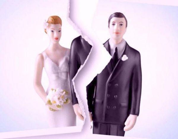 Las 5 fases del divorcio