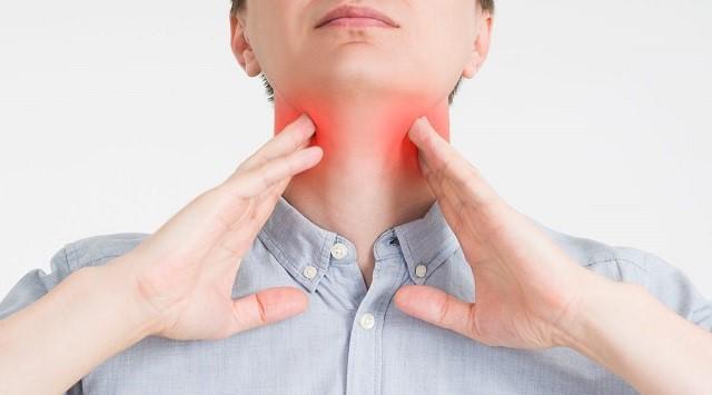 infección de garganta