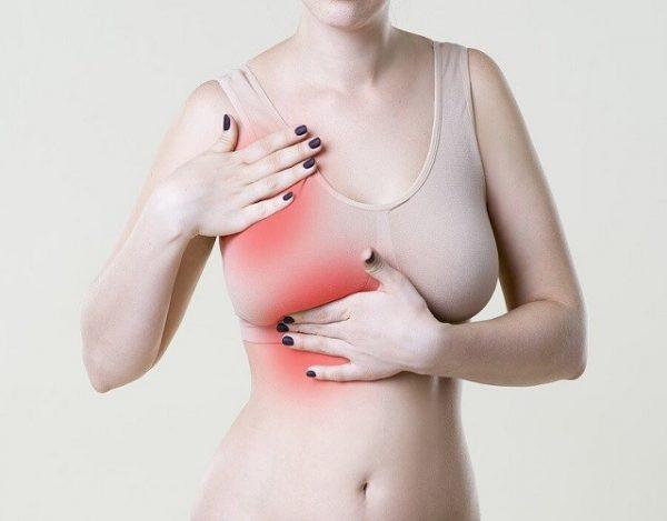 dolor de pechos