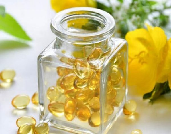 Perlas de onagra para la menopausia