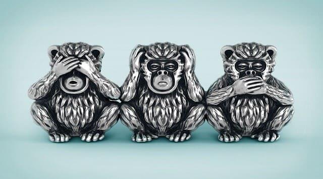 tres monos sabios