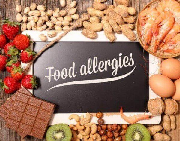 alergias alimentarias más comunes