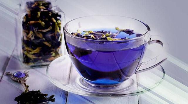 Beneficios del té azul