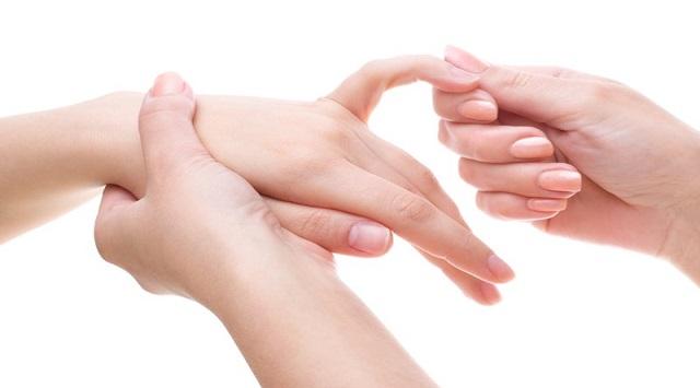 Masajes de las manos