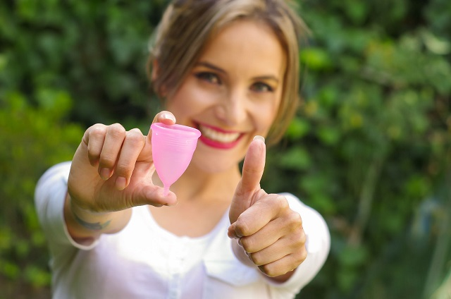 El uso de copas menstruales