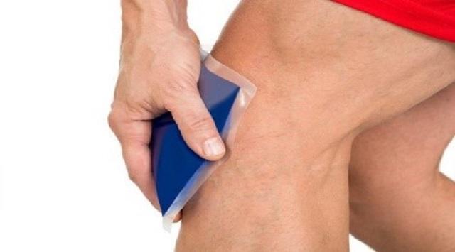 Rodilla inflamada
