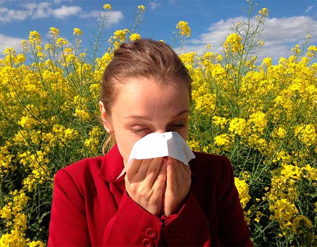 Síntomas de alergia o Covid-19